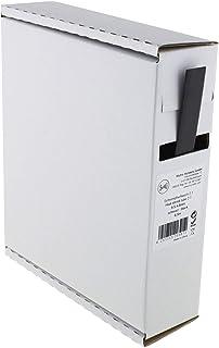 Heat Shrink Tube Black 2:1 9.5-4.8 mm 6.5 Metres - Dispenser Box