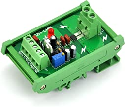 Electronics-Salon DIN Rail Mount AC/DC Current Sensor Module, Based on ACS712 (+/-20Amp)