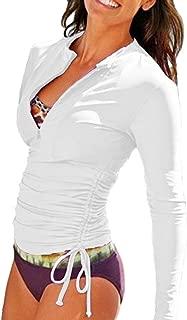 Women's UV Sun Protection Long Sleeve Rash Guard Wetsuit...