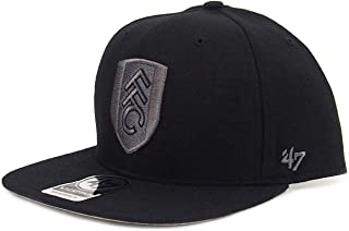 Fulham FC 47 Brand Official Soccer Gift Mens Snapback Velcro Baseball Cap