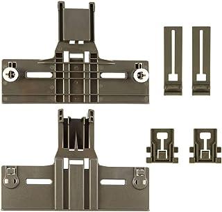 ManYee Dishwasher Rack Adjuster 0.9 In Diameter Wheel Dishwasher Top Replacement Part W10350376(2) W10195840(2) W10195839(...