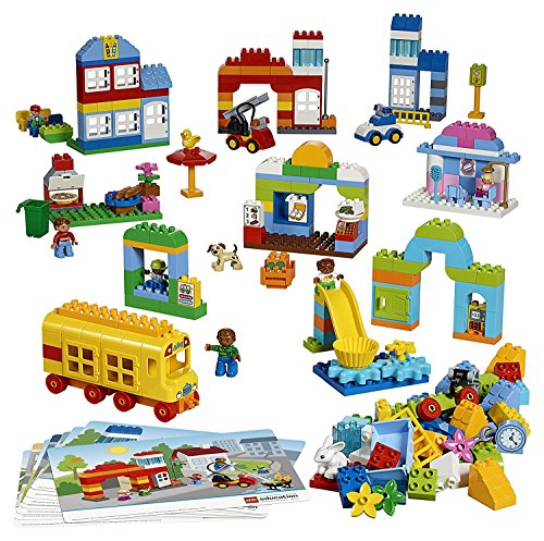 レゴ デュプロ カラフルタウンセット 45021 【国内正規品】 V95-5269