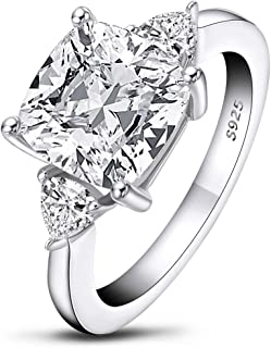 one carat cubic zirconia engagement rings