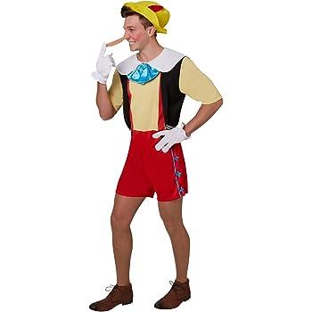 Rubies Disfraz de Pinocho para adultos, oficial XL: Amazon.es ...