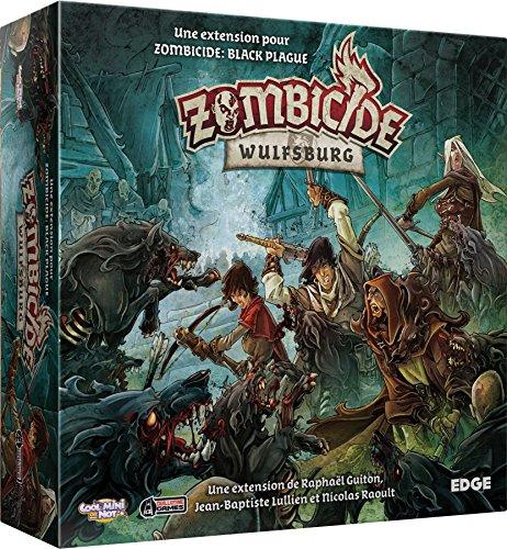 Zombicide Black Plague – Extensión: Wulfsburg – Asmodee – Juego de Mesa – Juego de Figuras