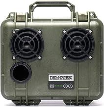 DemerBox: Waterproof, Portable, and Rugged Outdoor Bluetooth Speakers. Loud Sound + Deep..