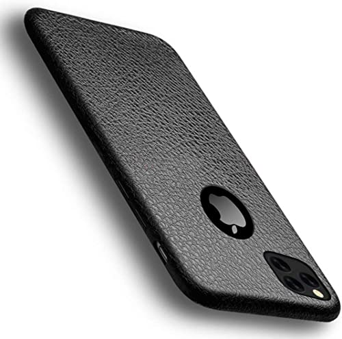 Crombie Soft TPU Pudding Ultra Thin Case Back Cover Compatible with iPhone 11 6 1 Inch Black