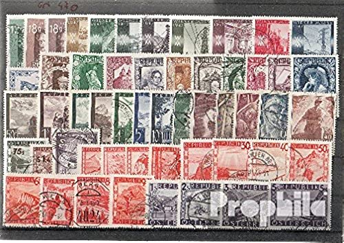 Prophila Collection  erreich 1947 kompletter Jahrgang in sauberer Erhaltung in Gef (Briefürken für Sammler)