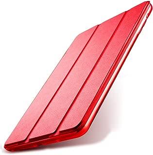 Kenke iPad Mini Case 7.9 inch Silicone Soft Cover Ultra Slim Lightweight Smart Case Folding Bracket with Auto Sleep/Wake for iPad Mini 1,Mini 2 Mini 3 (Red)