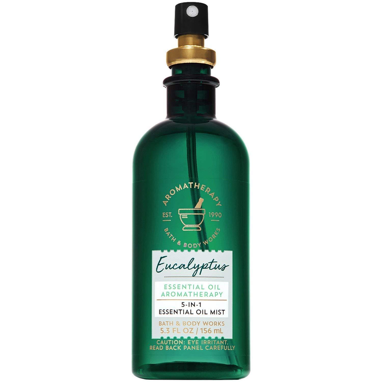 Bath Bombing new work Body Works Aromatherapy Eucalyptus M Essential Seasonal Wrap Introduction Oil 5-in-1