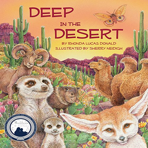 Deep in the Desert audiobook cover art