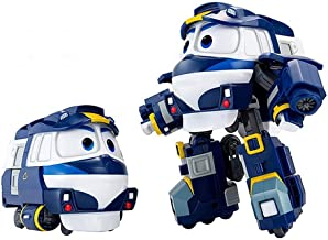 Animation Characters Kay Toy, Kids, Child, Korean Animation Robot Train Transformer Train Robot Character +Cute Sticker Gift