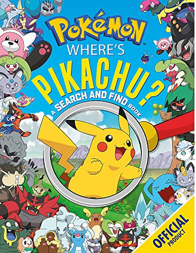 Where's Pikachu? A Search and Find Book