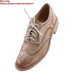 b58d8cab599 JARO VEGA Women s Comfort Leather Sole Perforated Lace Up Win .