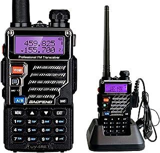 BaoFeng UV-5RE UHF/VHF Radio Bidireccional con Auricular,