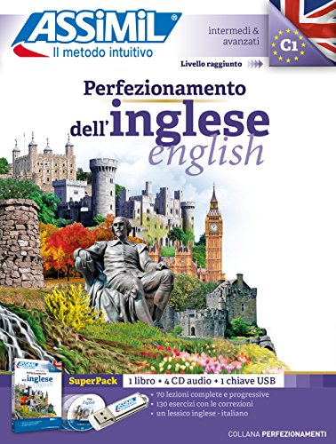 Perfezionamento dell'inglese. Con audio MP3 su memoria USB. Con 4 CD-Audio (Perfezionamenti)