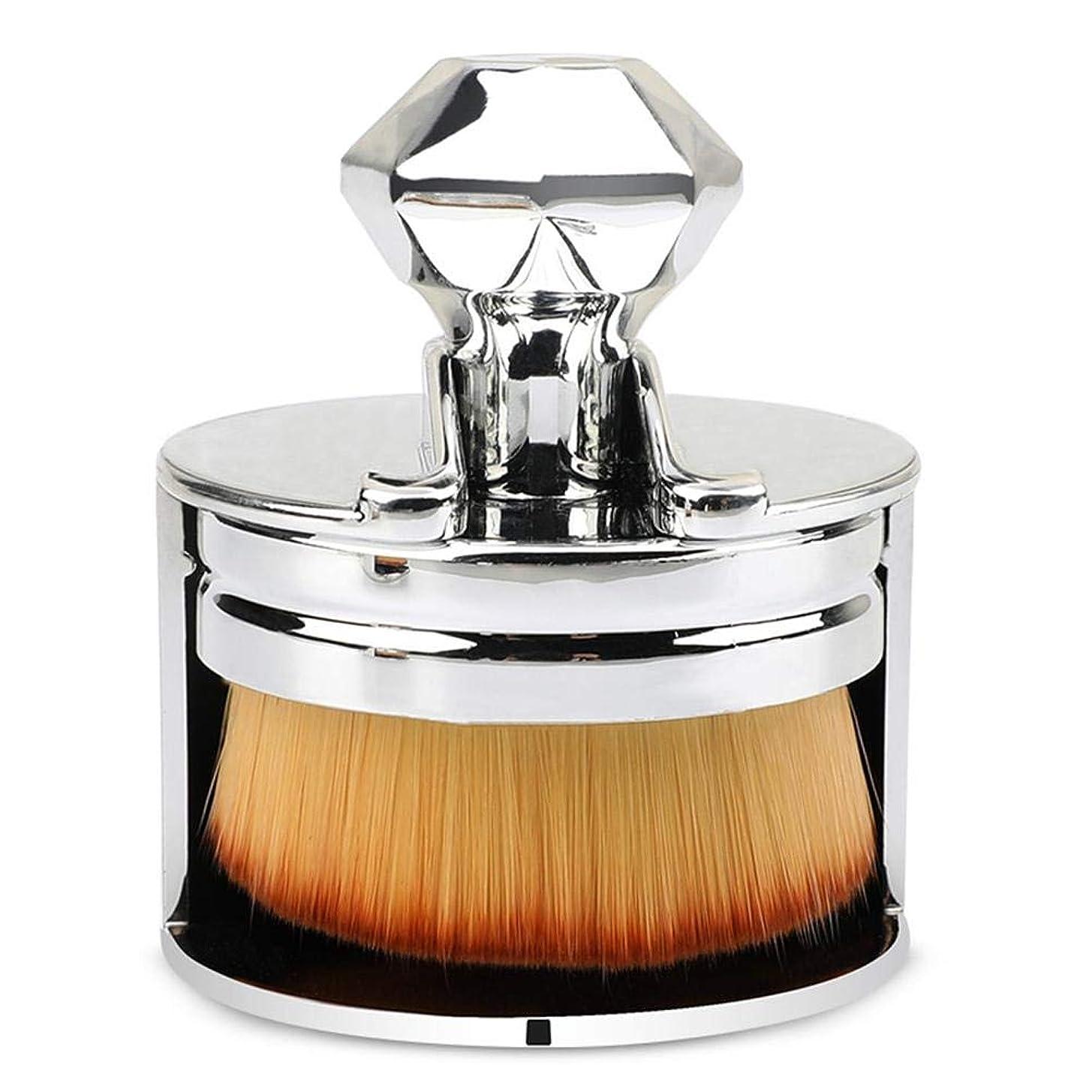 黙飛躍リングレット化粧筆 人気ファンデーションブラシ ファンデーションブラシ使いやすい 初心者 美容院 化粧ツール