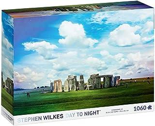 4D Cityscape Puzzle - Stephen Wilkes Stonehenge, U.K. Day to Night (10005)