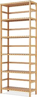 Estantería de Bambú natural con 6 niveles