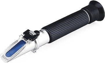 Refractometer, RISEPRO® Alcohol Refractometer for Spirit Alcohol Volume Percent Measurement with Automatic Temperature Com...