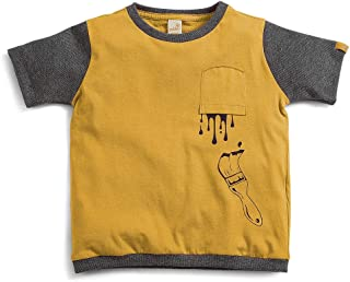 Camiseta Divertida Green Amarelo - Toddler Menino