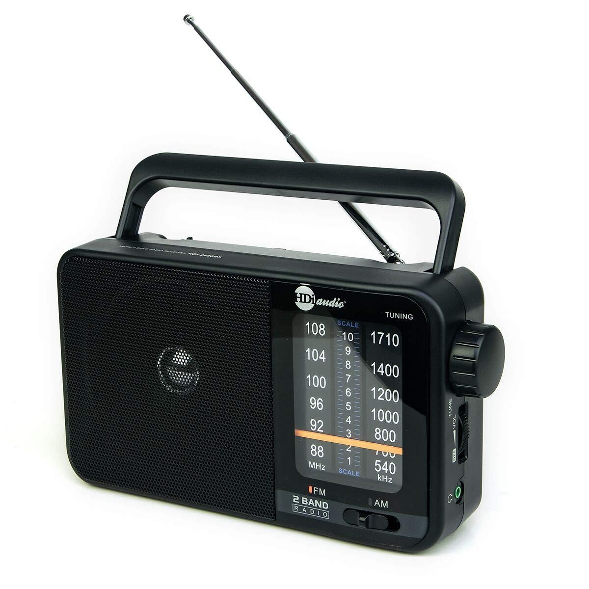 HDi Audio Headphone Reception Black