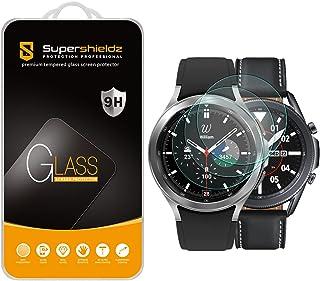 (3 Pack) Supershieldz Designed for Samsung Galaxy Watch 4 Classic (46mm) / Galaxy Watch 3 (45mm) Tempered Glass Screen Pro...