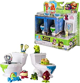 Spin Master - Series 1 - Bizarre Bathroom Collectible 8-Pack Figures (Color/Styles May Vary)