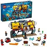 LEGO60265CityOcéano:BasedeExploración, SetdeConstrucciónparaNiñosa Partir de 6añosconDronSubacuáticoyMiniFiguras