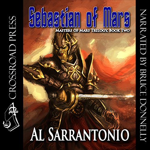 Sebastian of Mars audiobook cover art