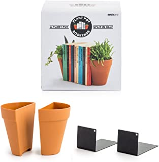 Suck UK Planter Bookends (Plastic)