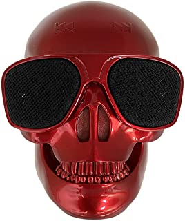 $29 » Skull Speaker Portable Bluetooth Mini Speakers Bass Stereo Compatible for Desktop PC/Laptop/Mobile Phone/MP3/MP4 Player fo...