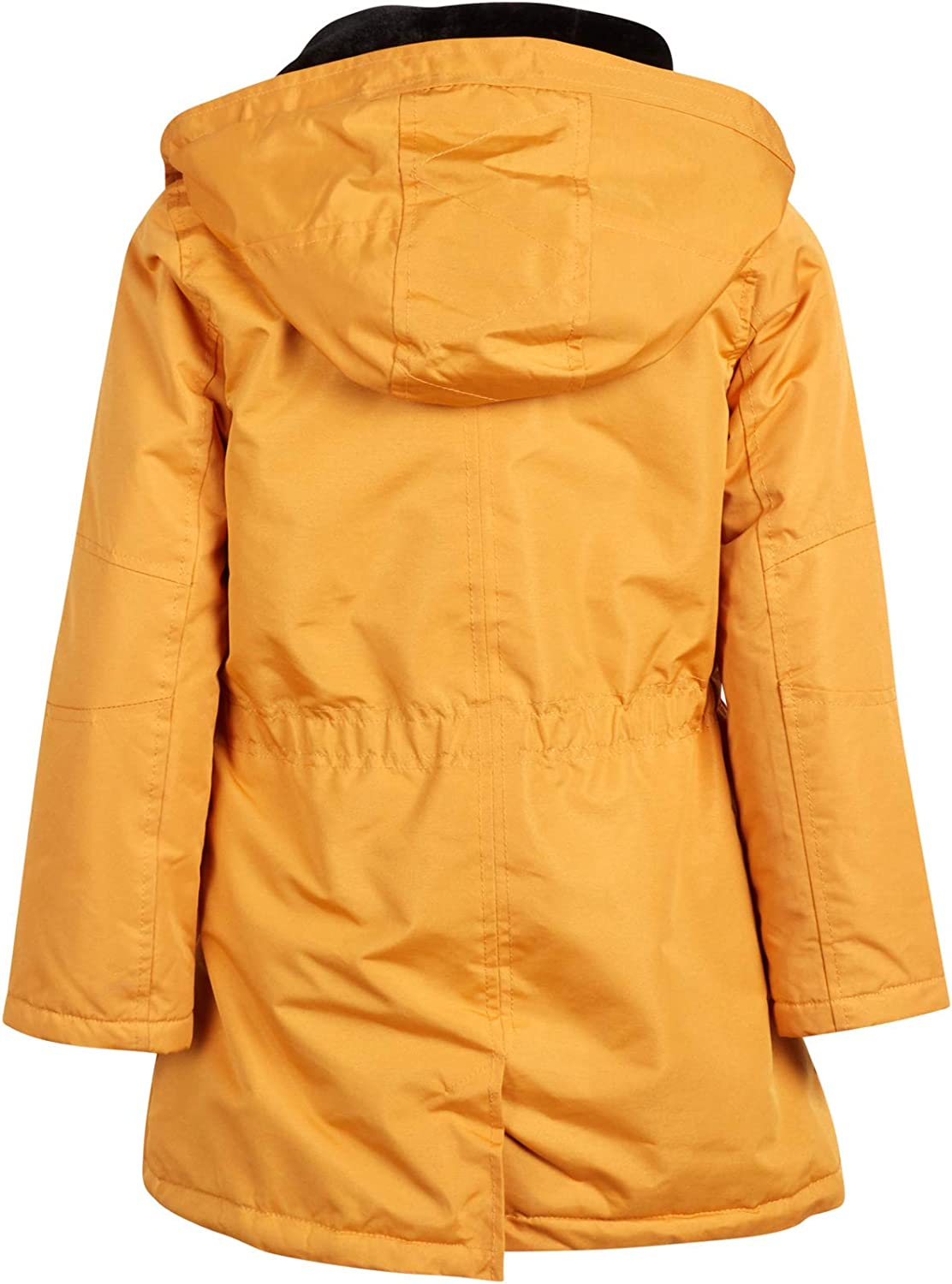 Sherpa Fur Lined Heavyweight Parka Jacket with Removable Hood URBAN REPUBLIC Girls/' Winter Coat
