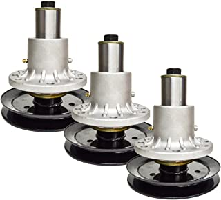 3PK Spindle Assembly w/Pulley for Exmark Lazer Z 44