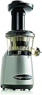 Omega VRT402 HD Extracteur de Jus Vertical avec Capuchon à Jus Gris 21,6 x 17,8 x 39,4 cm