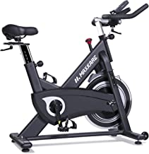 MaxKare Magnetic Exercise Bikes Stationary Belt Drive Indoor Cycling Bike with High Weight Capacity Adjustable Magnetic Re...