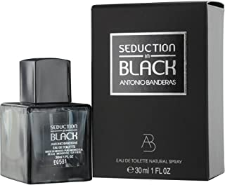 Seduction In Black Eau De Toilette Natural Spray by Antonio Banderas 1 Fluid by Antonio Banderas