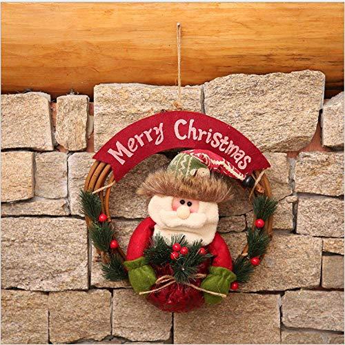 NP Decoraciones navideñas Ajuste de la Corona de Navidad Bola de Regalo para niños Árbol de Navidad Colgante Decoración de la Puerta