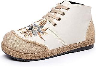Damesschoenen, outdoor schoenen, stoffen schoenen, vrouwen, canvas, vrijetijdsschoenen, platte schoenen, slip-on schoenen,...