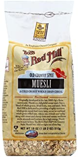 Bobs Red Mill Muesli Old Country Style 18.0 OZ(Pack of 12)