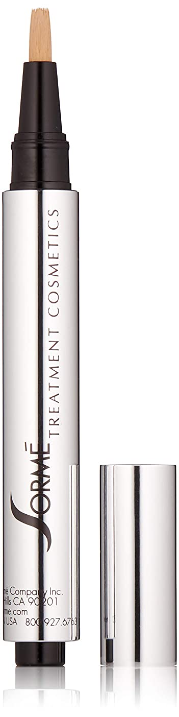 Sorme' Treatment Cosmetics Sorme化粧品パーフェクトタッチコンシーラーペン、0.10オンス 0.10オンス クールな磁器