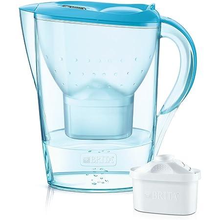 ブリタ 浄水 ポット 1.4L マレーラ Cool オーキッド ブルー ポット型 浄水器 カートリッジ 1個付き 【日本仕様・日本正規品】