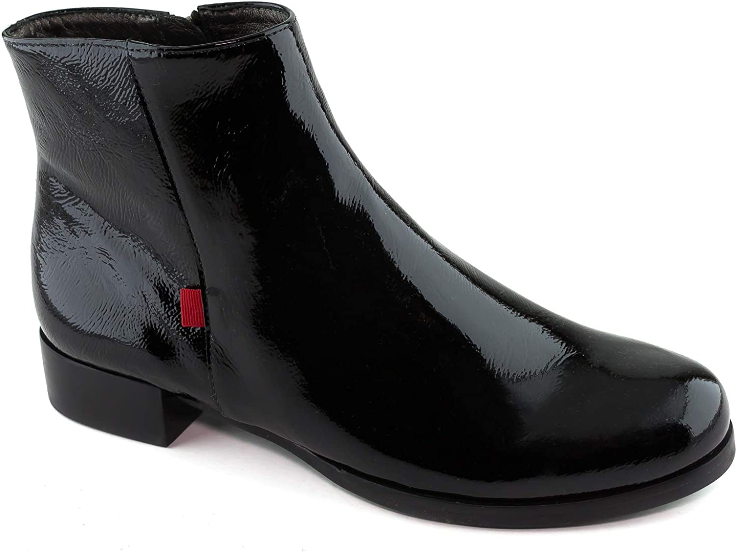 MARC JOSEPH NEW YORK Womens Womens Genuine Leather Made in Brazil Prince Street Bootie Ankle Boot