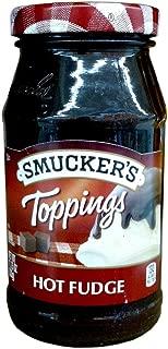 Smucker's HOT FUDGE TOPPINGS 11.75oz (2 Pack)
