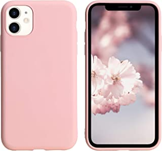 Pink iPhone 11 Case Soft TPU Protective Mobile Phone Basic Case Compatible with Your iPhone 11 6.1 Inch for Shock Absorpti...