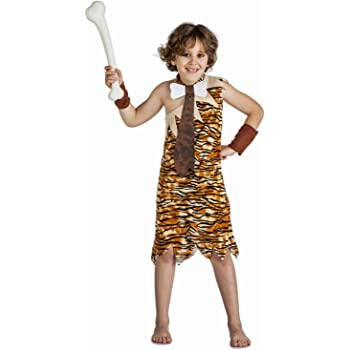 Disfraz de Troglodita para niña: Amazon.es: Juguetes y juegos