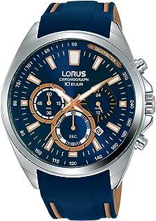 ساعة رياضية كرونوغراف بحزام سليلكون للرجال من لوروس موديل RT385HX9