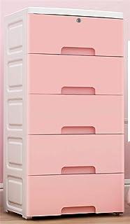 qwess Boîte De Rangement Multicouche en Plastique Tiroir Armoire De Rangement Armoire De Rangement Organiser La Boîte
