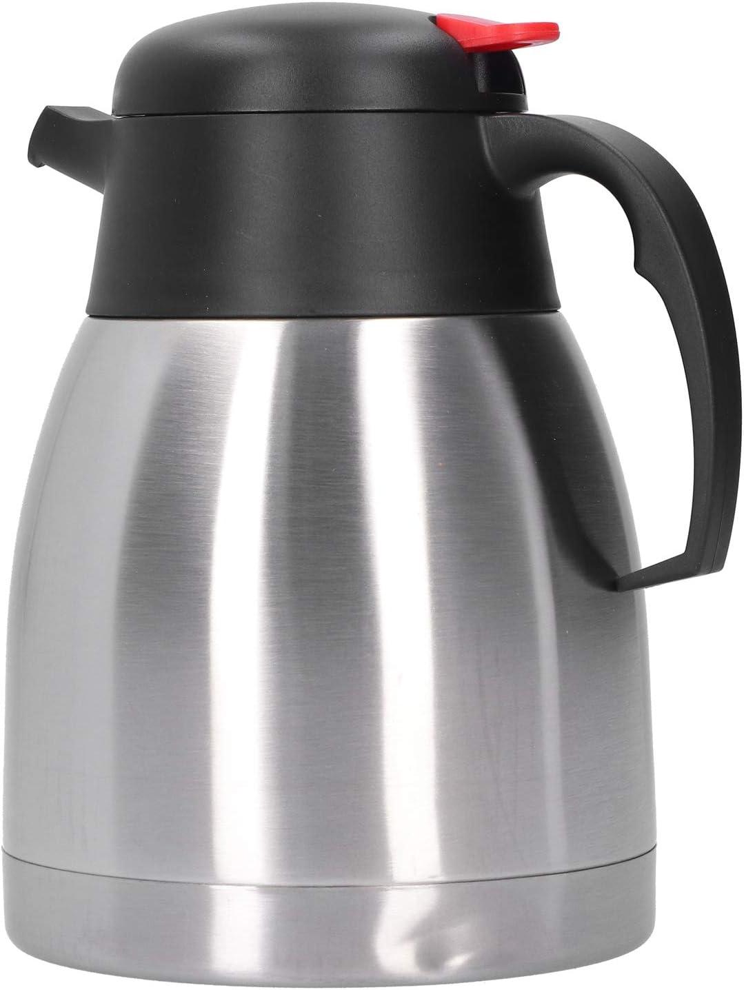 Jarra térmica de café de 1,2 l / 1,5 l, jarra de café, jarra de café con pico en forma de pico de águila, regalos de invierno para té de café de agua caliente(Olla aislada al vacío 1.2L)