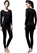 FITEXTREME Womens MAXHEAT Compression Performance Long Johns Thermal Underwear